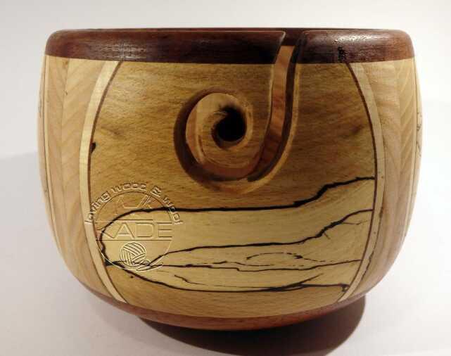 Garnschale Holz beads per minute - der perlenkontor - showroom