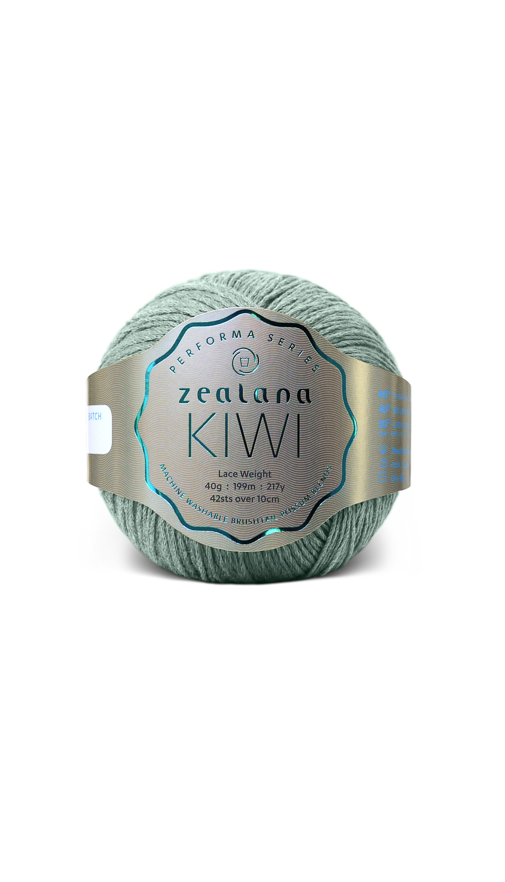 Zealana Possum-Kiwi Lace Weight-Winter Green - 13