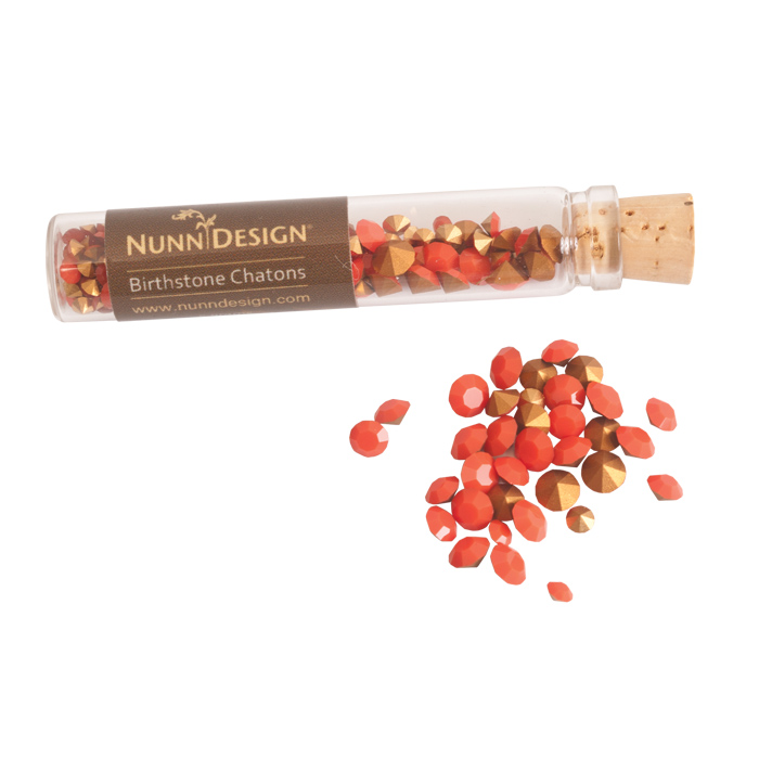 Nunn Design - Chatons - Coral - 4sizes/5gr