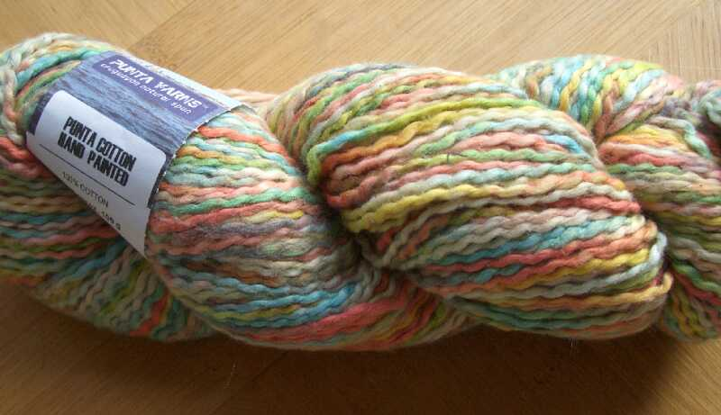 punta yarn - Cotton hand paint - hp37 - 100gr