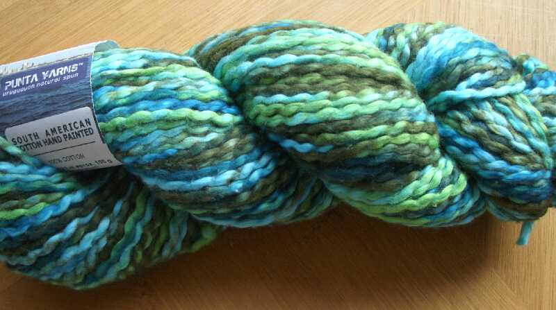 punta yarn - SouthAmericanCotton hand paint - hp10
