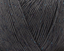 Rico essentials cotton glitz dk - Anthra -50g-N.4