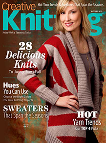Creative Knitting - Fall 2015