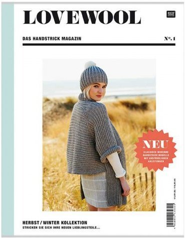 rico - LoveWool Magazin No.1 - Deutsch