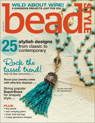 BeadStyle Magazin - Vol.13 Issue 6 - November 2015