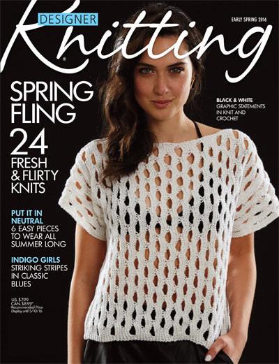 Designer Knitting US #52 - Early Spring 2016