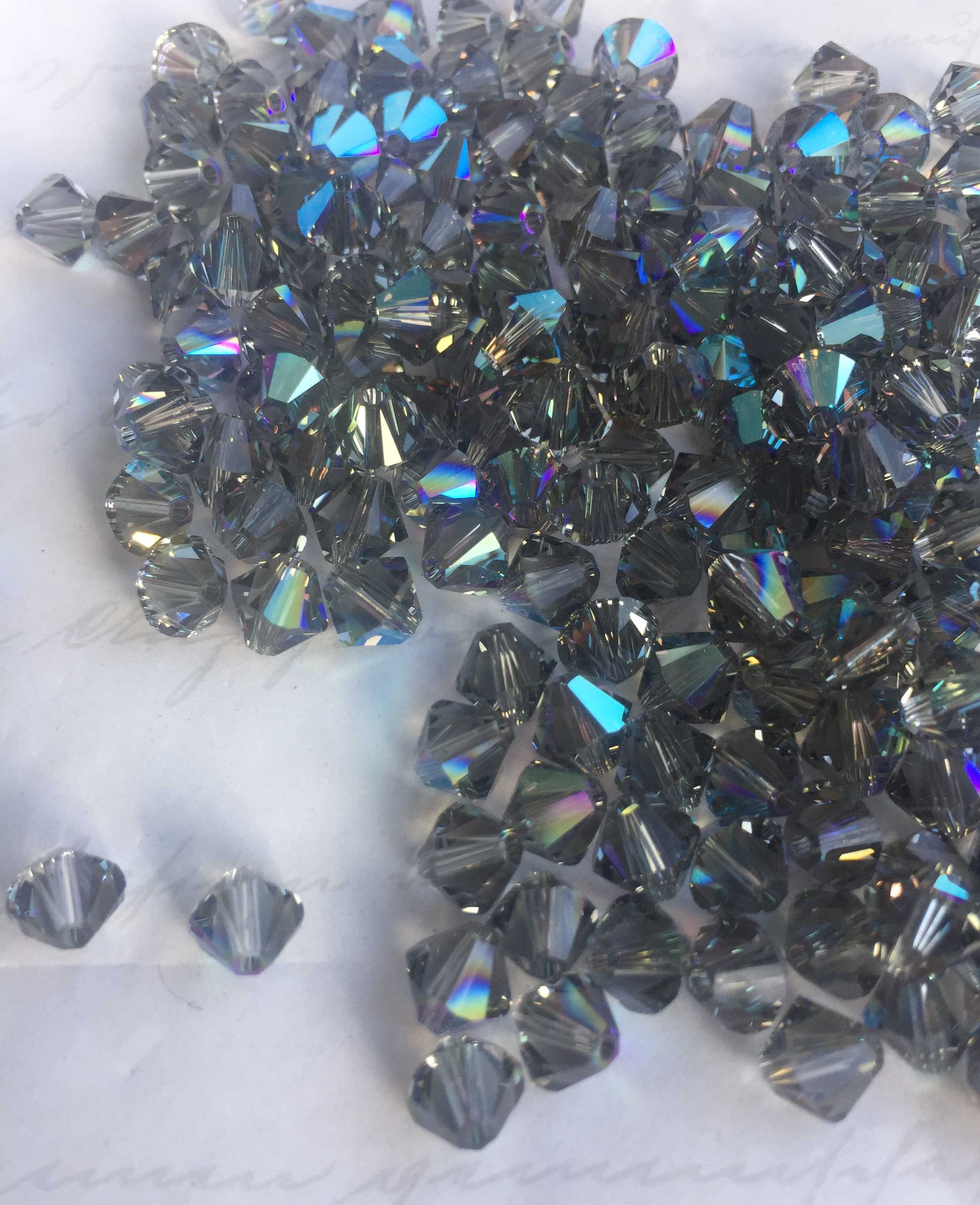 5328 - Black Diamond Shimmer (215SHIM) - 6mm