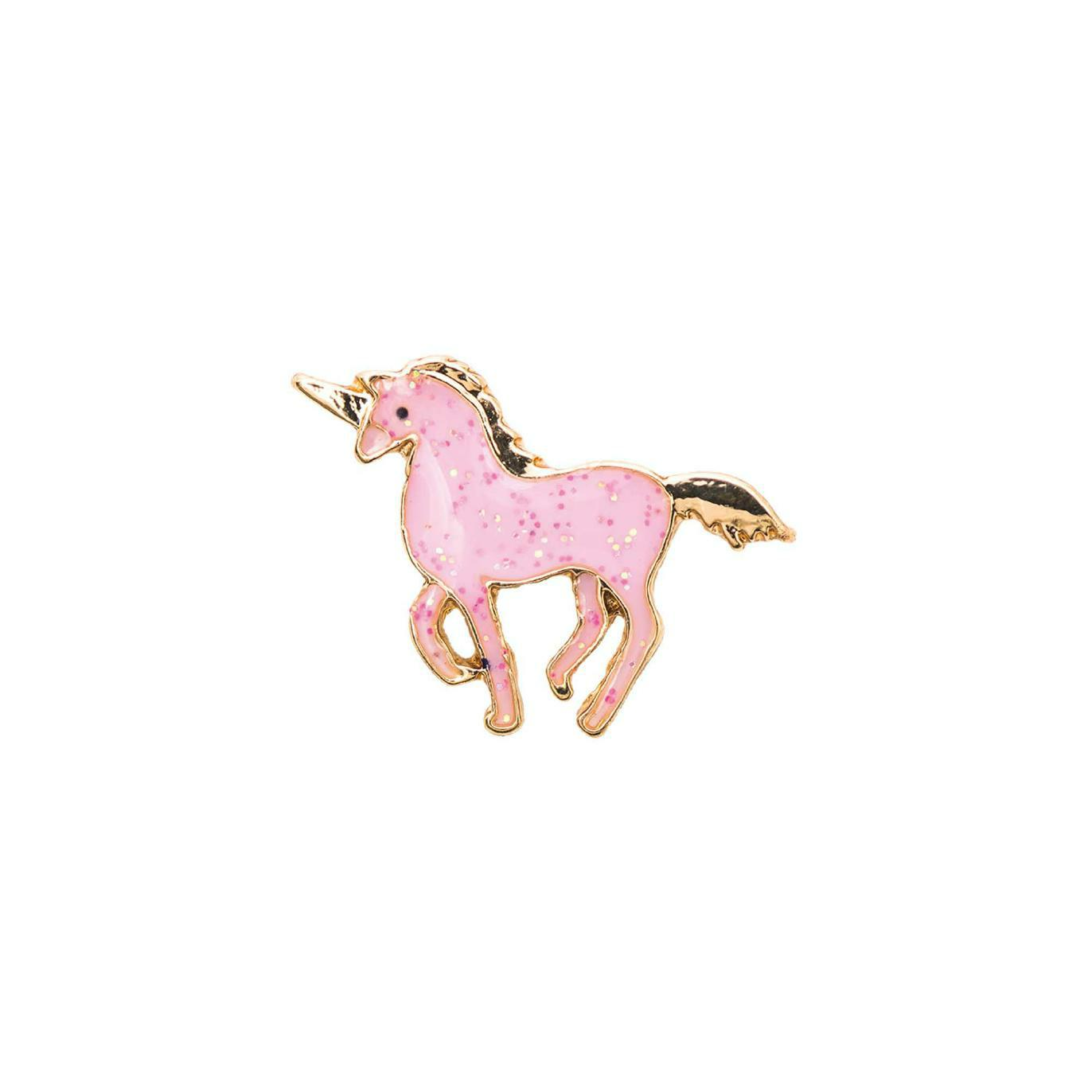 "rico - Emailbrosche/Pin - ""Pink Unicorn"" - 18x14mm"