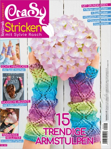 Stricktrends Sonderheft - CraSy  Stulpen 2018/08
